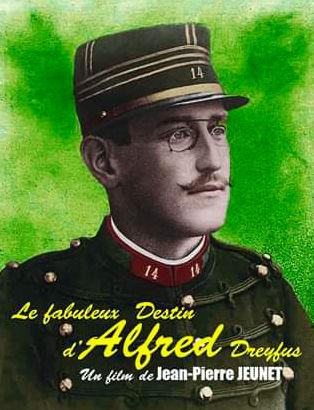 Parodie d'affiche de film Dreyfus Jewpop