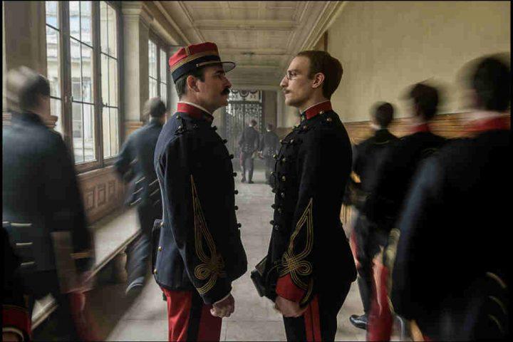 Photo du film J'accuse de Roman Polanski avec Jena Dujardin et Louis Garrel Jewpop