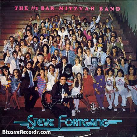 Pochette d el'album Steve Fortgang bar mitsva Jewpop