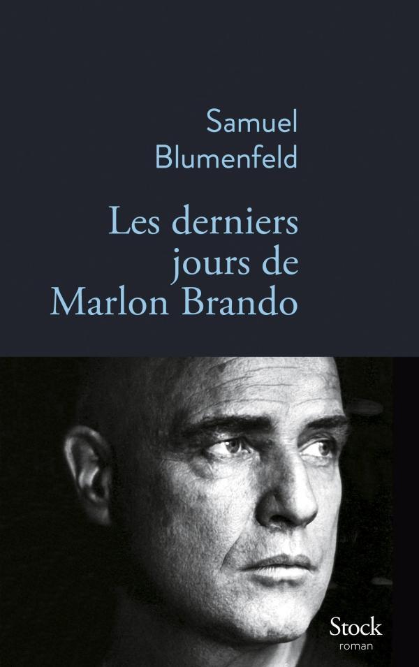 Couverture du livre Les derniers jours de Marlon Brando Blmumenfeld Jewpop