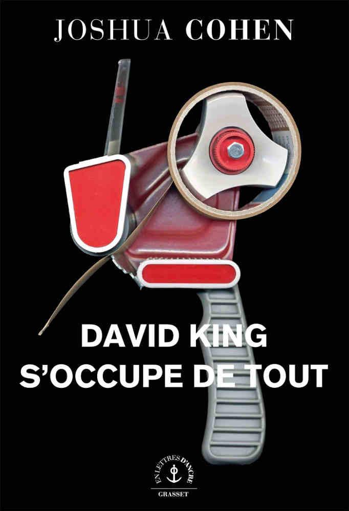 Couverture du livre David King s'occupe de tout de Joshua Cohen Jewpop