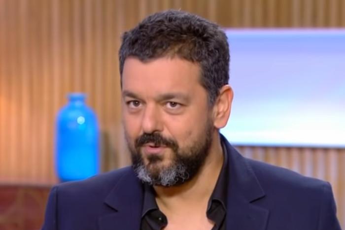 Photo de Joann Sfar dans l'émission C à vous sur France 5 Jewpop