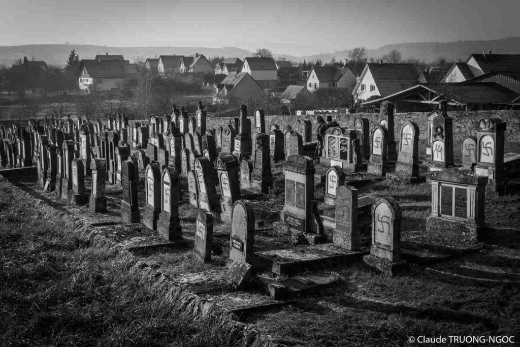 Photo du cimetière de Westhoffen Claude Truong Ngoc Jewpop