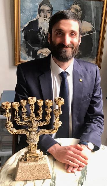 Photo de benjamain Zagzag, expert en Judaïca Jewpop
