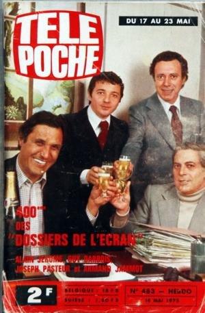 Couverture du magazine Télé-Poche Les Dossiers de l'Écran Jewpop