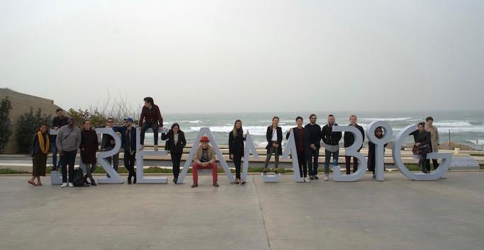 Photo des influenceurs progressistes invités en Israël Jewpop