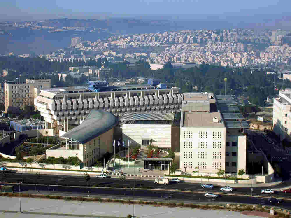 Photo du ministère des affaires étrangères israélien à Jérusalem Jewpop