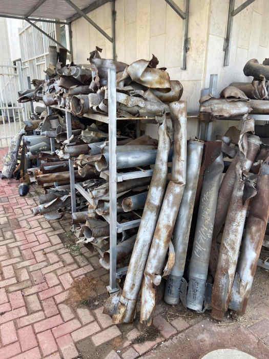 Photo de roquettes à Sdérot Jewpop