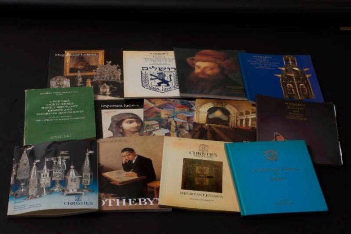 Photo de catalogues de ventes aux enchères Judaica Jewpop
