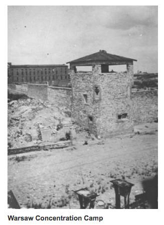 Photo du camp de Varsovie Jewpop