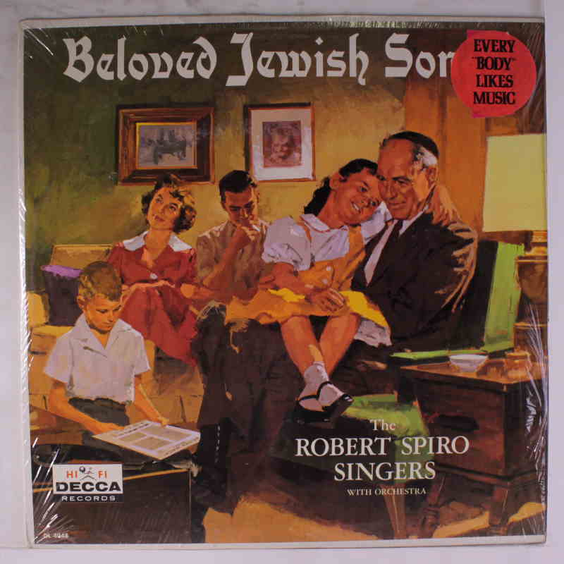 Photo de couverture du disque Beloved Jewish Songs Papy Jewpop