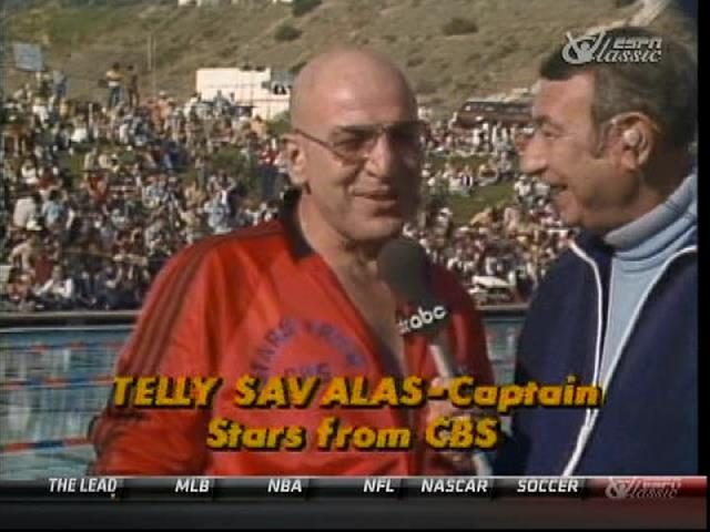 Photo de l'émission tv Battle of the Networks avec Telly Savalas et Howard Cosell Jewpop