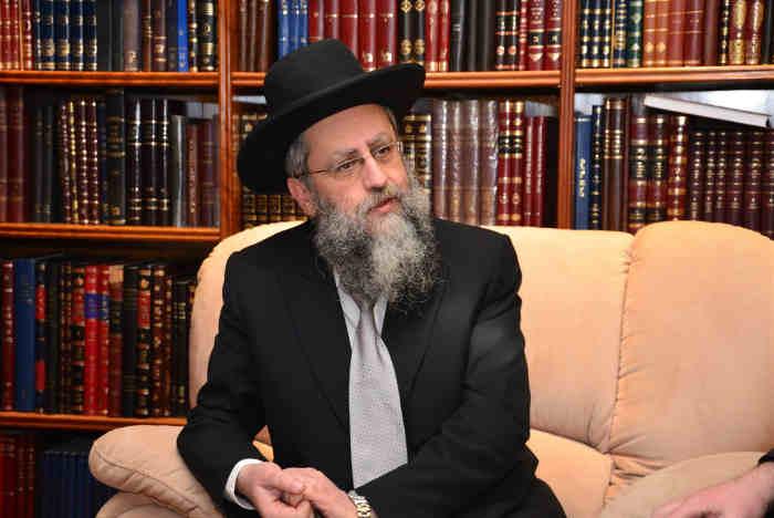 Photo du rabbin David Yossed coronavirus haine anti-haredite Jewpop