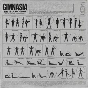 Back Cover album Gimnasia En Su Hogar Jewpop