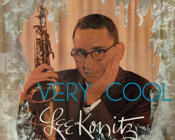 Pochette de l'album de Lee Konitz very Cool Jewpop