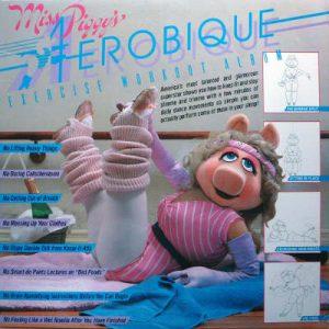 Couverture du disque Miss Piggy Aerobic Jewpop
