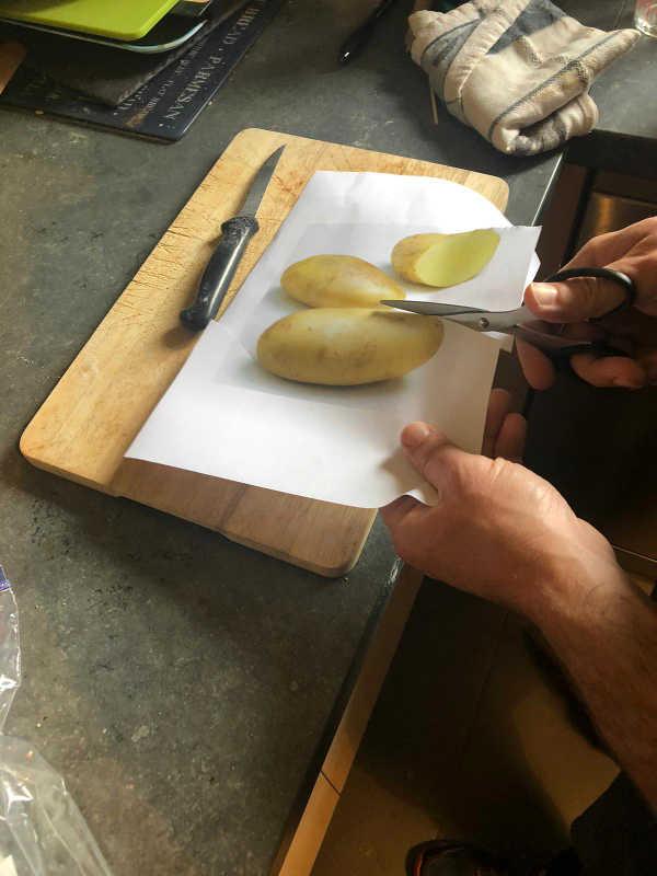 Pommes de terre Jewpop