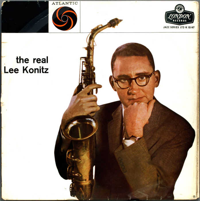 Pochette d el'album The Real Lee Konitz Jewpop
