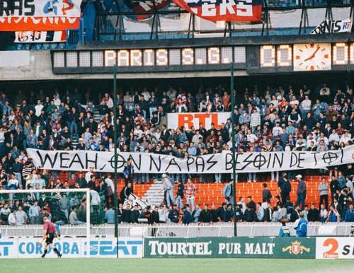 Kop Boulogne PSG Jewpop