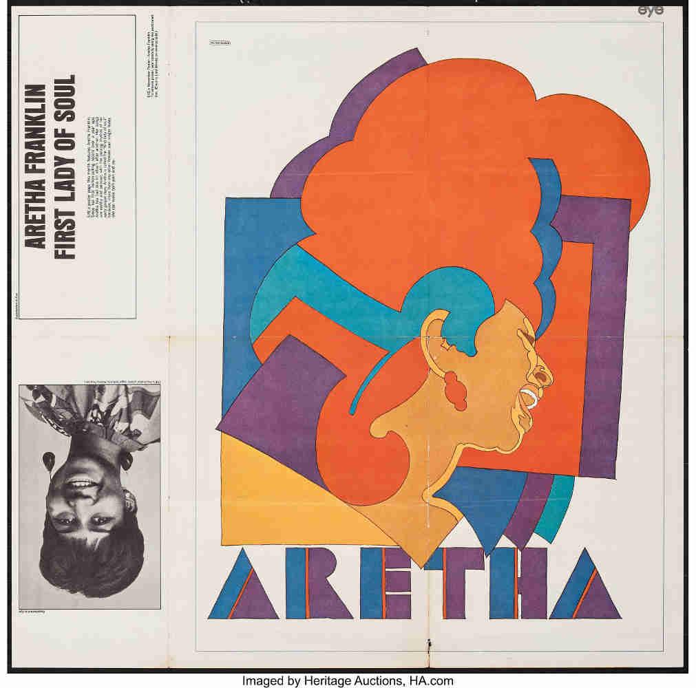 Pochette disque Aretha Franklin Glaser Jewpop