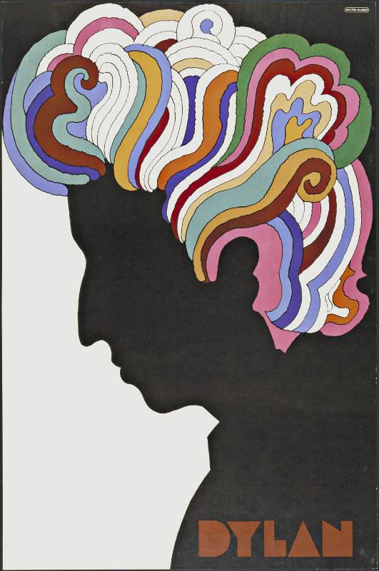 Poster Bob Dylan Milton Glaser