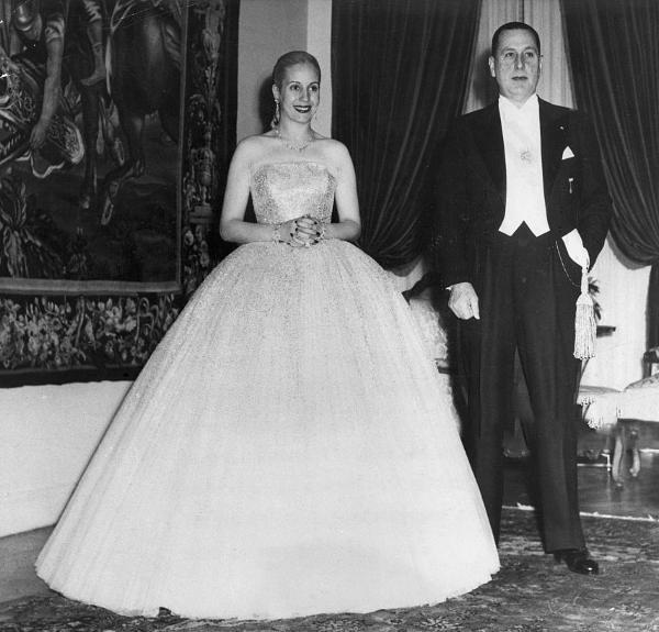 Evita et Juan Peron Jewpop