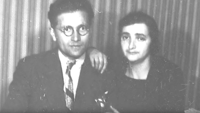 Nahum Plocki et Riwka Rajsfus Jewpop