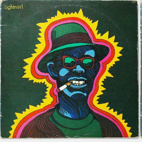 Pochette disque Lightnin Hopkins Glaser Jewpop