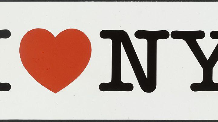 Logo I love NY Milton Glaser Jewpop