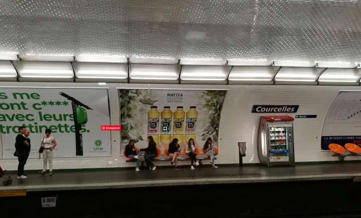 Metro Courcelles 17ème arrondissement Paris juifs Jewpop