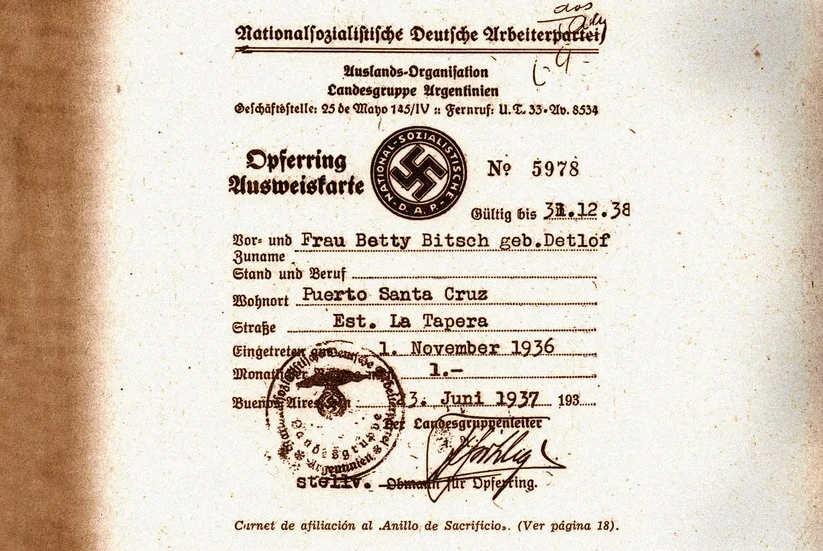 Liste nazis Argentine Jewpop