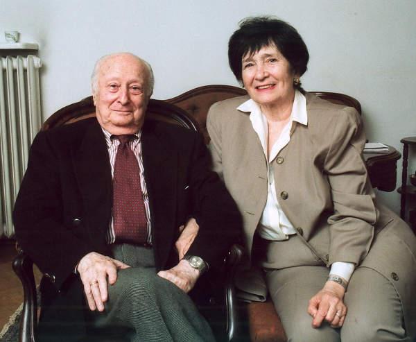 Wladyslaw et Halina Szpilman