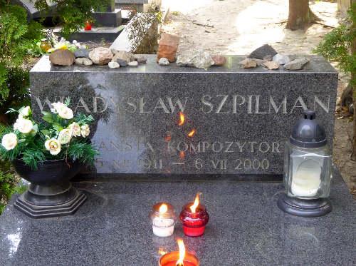Tombe de Wladyslaw Szpilman