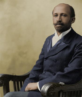 Portrait colorisé de William Du Bois Jewpop