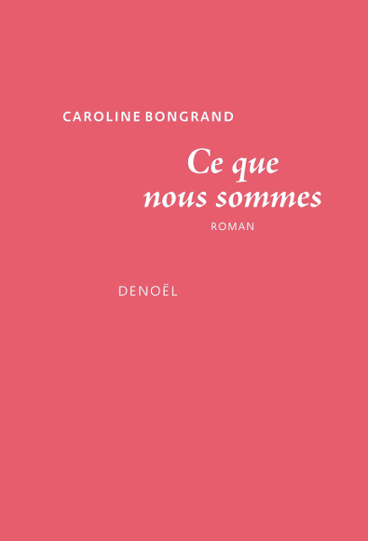 Caroline Bongrand livre jewpop