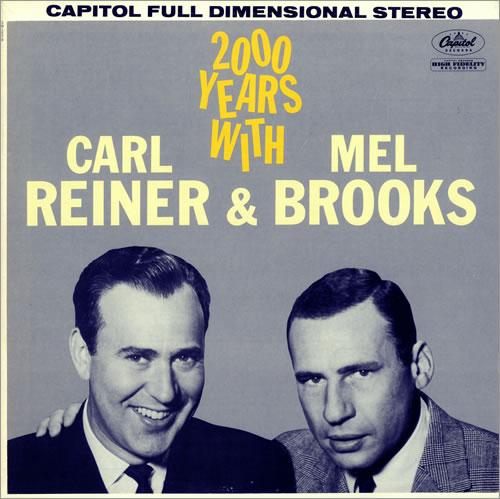 Pochette de disque Carl Reine Mel Brooks Jewpop