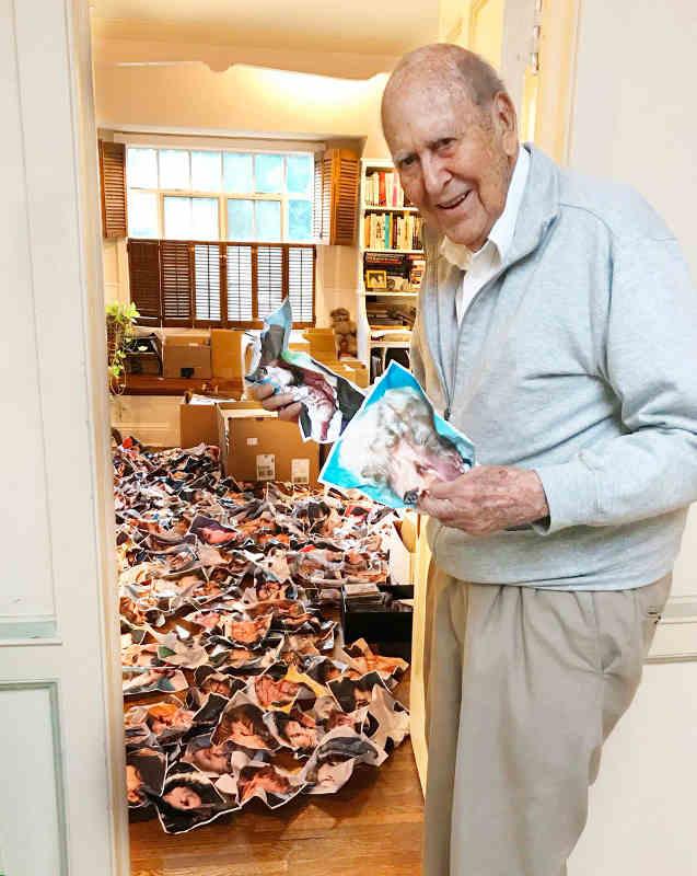Carl Reiner scrunch Jewpop