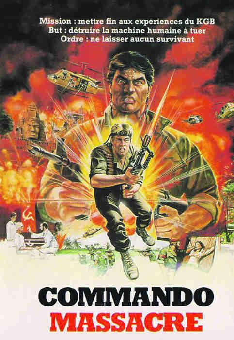 Affiche film Commando massacre Jewpop