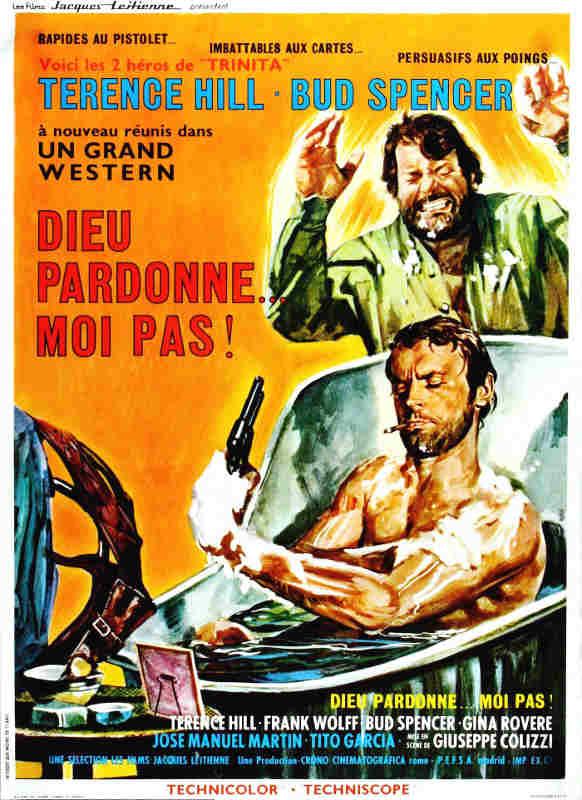Affiche du film Dieu pardonne moi pas ! Jewpop