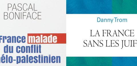 Couvertures des livres de Pascal Boniface et Dannt Trom Jewpop