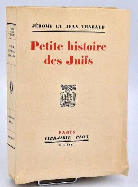 Petite histoire des juifs Tharaud Jewpop