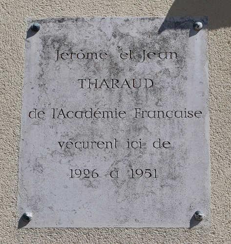Plaque frères Tharaud Jewpop
