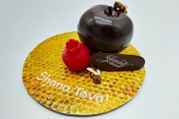 Pomme chocolat Rosh Hashana Jewpop