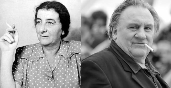 Golda Méir et Gérard Depardieu Jewpop