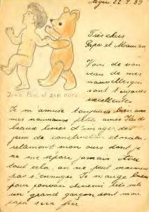lettre tirée du livre Ces excellents Français Jewpop