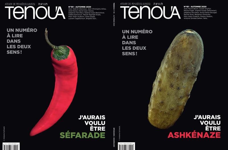 Couverutres magazine Tenoua Jewpop