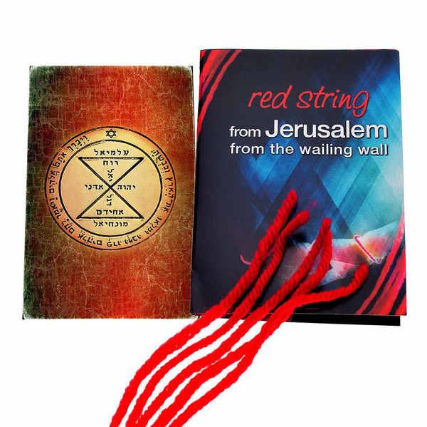 bracelet rouge Jewpop