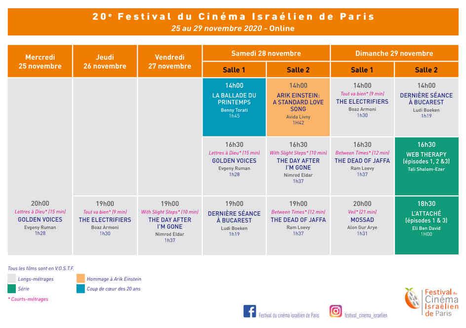 Programme festival Jewpop