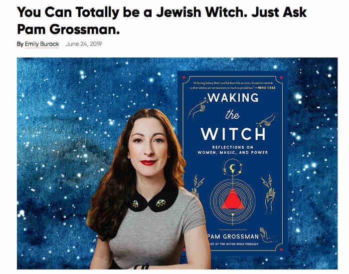 Jewish Witch sorcellerie Jewpop