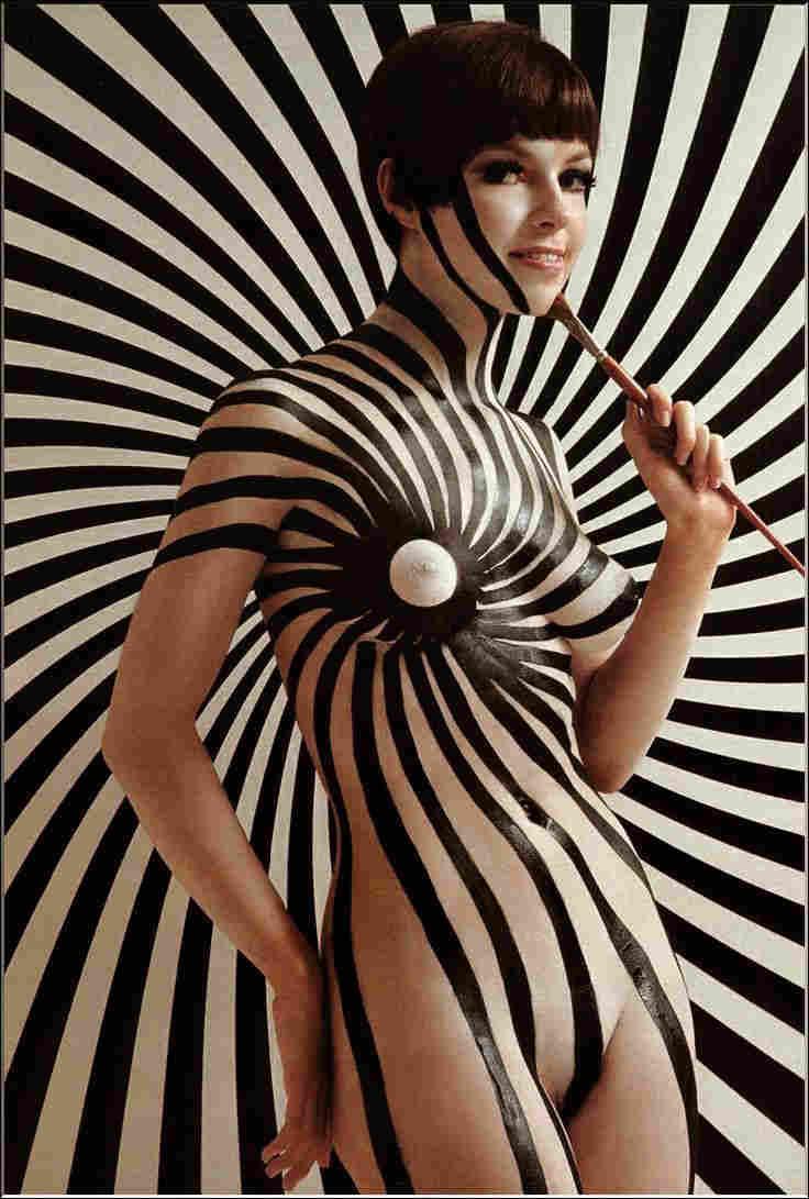 Cara peters Body Painting Jewpop